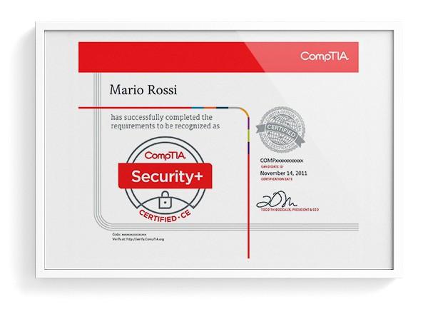 Certificazione Comptia - Istituto Volta